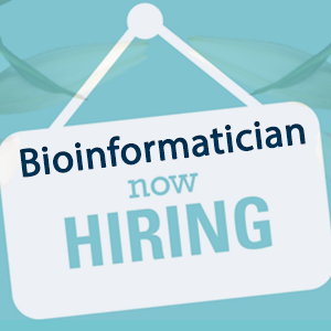 Vacancy: Bioinformatician